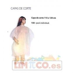 CAPA DE CORTE BLANCA 115X120 CM. INDIVIDUAL