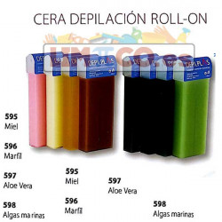 CARTUCHO DE CERA ORO ROLL-ON 100 ML.