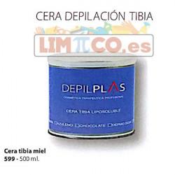 CERA TIBIA MIEL EN BOTE 500 ML.