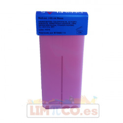 CARTUCHO DE CERA ROSA ROLL-ON 100 ML.