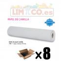 ROLLO DE PAPEL CAMILLA 1 CAPA NATURAL 1,5 KG