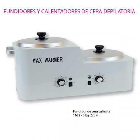 FUNDIDOR DE CERA CALIENTE 5 KG.