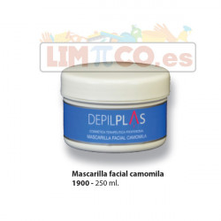 MASCARILLA FACIAL CAMOMILA 250 ML.