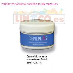 Crema Hidratante Tratamiento Facial, 250 ml.