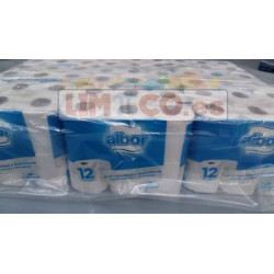 Rollo papel higienico ColHogar, 12 Rollos. Bolsa de 9 paquetes x 12 R