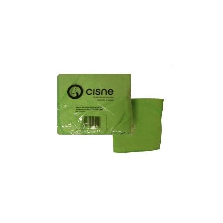 Bayeta Verde Microfibra Plus PACK 12 ud