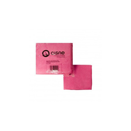 Bayeta Rosa Microfibra Plus PACK 12 ud