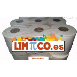 Papel Secamanos Gofrado Pasta 800 GR PACK de 6 ROLLOS