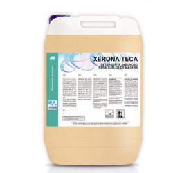 XERONA TECA, Fregasuelos para Madera. Detergente Jabonoso