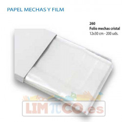 Folio Mechas Cristal 12X30 cm - 200 Uds