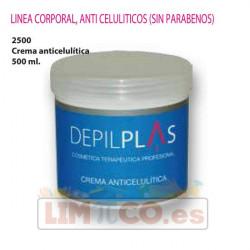 Crema Anticelulítica 500 ml. - Depilplas