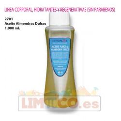 Aceite Almendras Dulces 1.000 ml.