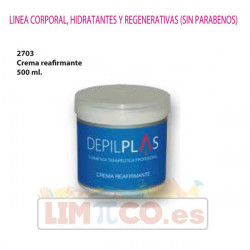 Crema Reafirmante 500 ml.