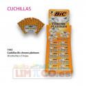 Cuchillas Bic chrome platinum