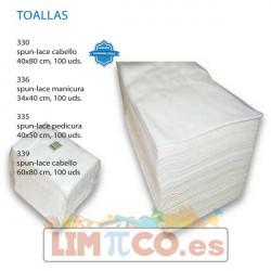 Toalla Desechable Celulosa Cabello 40x80cm
