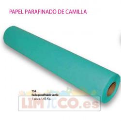 Rollo parafinado verde 1 capa