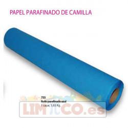 Rollo parafinado azul 1 capa