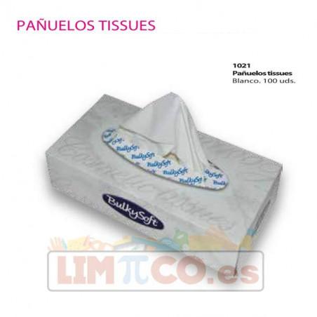 Pañuelos Tissues Blanco - 100 Uds