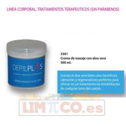 Crema de masaje con aloe vera - 500 ml