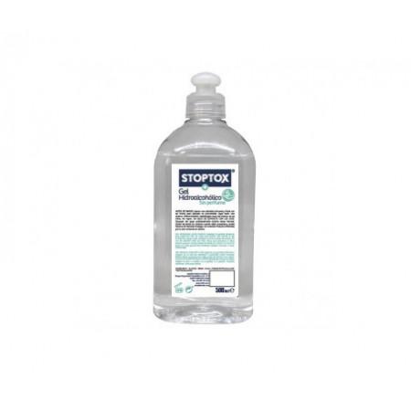 Stoptox Gel Hidroalcohólico Sin Perfume 500ml