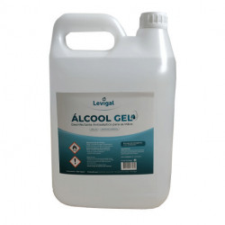 GEL HIDROALCOHOLICO 80% LEVIGAL 5L 2U
