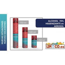 ALCOHOL HIGIENIZANTE EN AEROSOL 500ML 15U